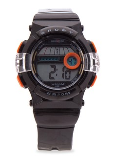 Unisex Rubber Strap Watch MXPO-699D