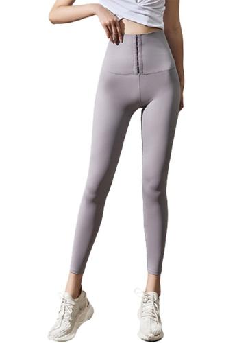 Trendyshop grey High-Elastic Fitness Leggings 2C39BUS8E45499GS_1