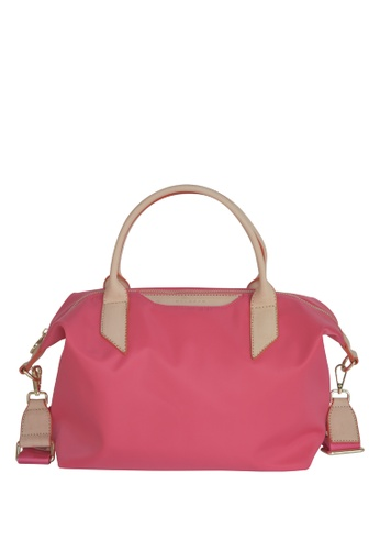 MIC & BEN pink MIC & BEN AWAY NYLON TOTE BAG 21ADEAC44461CEGS_1