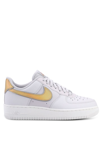 new product e3131 0fb16 Nike grey Nike Air Force 1 07 Metallic Shoes CC10CSHE5DAF8EGS1