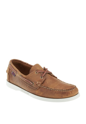 Sebago brown Docksides Boat Shoes AA7F4SHA93CBE3GS_1