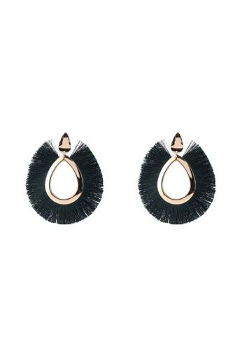 Vero Moda green Dianne Big Earrings 003F1AC0DF3897GS_1