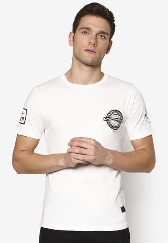 Undergradesprit香港分店e 徽章設計TEE, 服飾, T恤