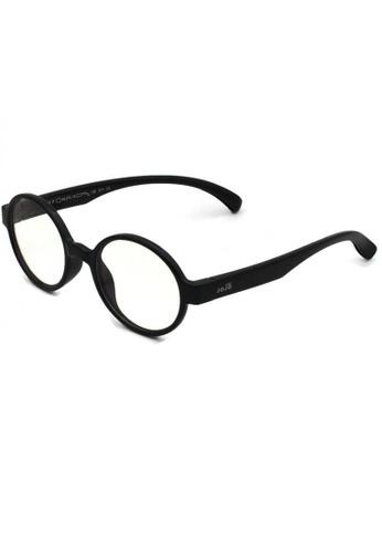 jojo black Round Blue Light Filtered Glasses 884A7KC501B939GS_1