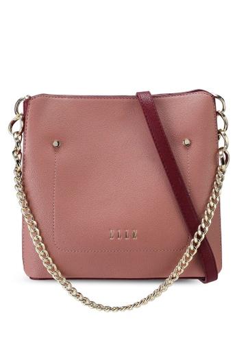 ELLE pink Rikki Crossbody Bag 50A1EAC60506BBGS_1