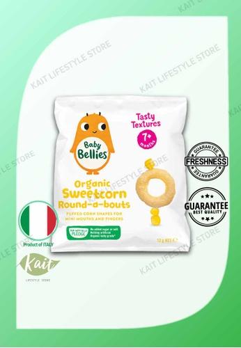 Kait Lifestyle LITTLE BELLIES Organic Superfood Baby Puffs (12g) - Corn 78C08ES2B0605DGS_1