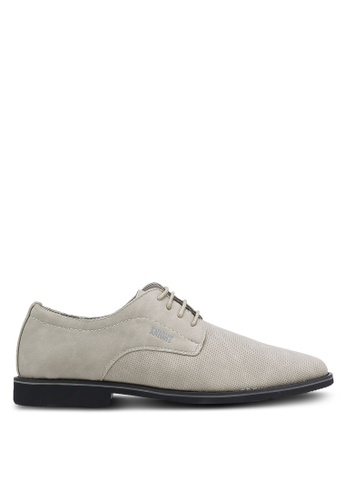 Knight grey Lace Up Business Shoes KN875SH0RF91MY_1