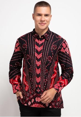 ARJUNA WEDA red Kemeja Batik Sinaran 15CD9AA4718D6CGS_1