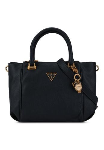 Guess black Destiny Status Top Handle Bag F9A26AC0724554GS_1