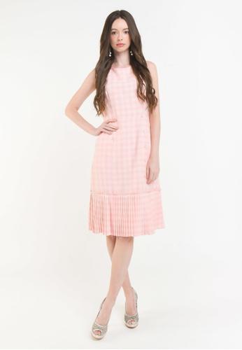L'zzie pink LZZIE CARROLE DRESS - PINK B7201AADF1E209GS_1