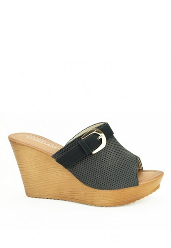 Cardam's Lifestyle grey Infinity Wedges 5988ESHB055D83GS_1