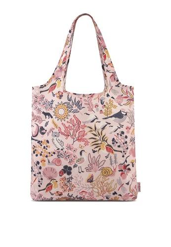 Cath Kidston pink Magical Memories Foldaway Shopper Bag 3B0BBACB11A624GS_1