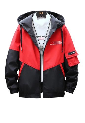 Twenty Eight Shoes red VANSA  Fashion Hooded Coat VCM-C001 7AB57AAB9E7AEEGS_1