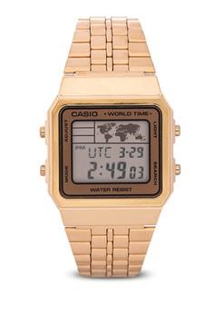 Square Digital Watch A500WGA-9DF