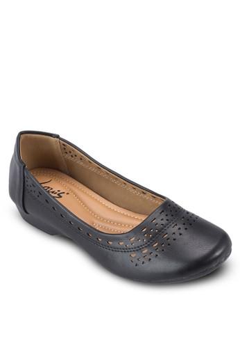 沖孔雕花平底鞋,zalora鞋子評價 女鞋, 鞋
