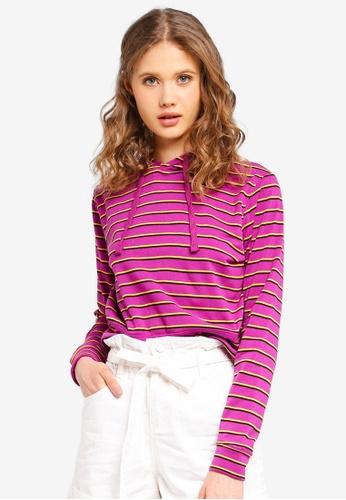 Cotton On purple Baby Hoodie B54F3AA6604F5BGS_1