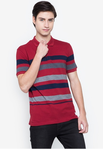 Blued red Bennison Polo 191C9AA4010F20GS_1