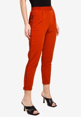 LC Waikiki red Elastic-Waist Carrot Trousers 2F496AA395F0A2GS_1