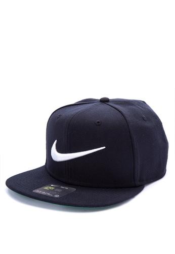 Nike black Unisex Nike Sportswear Pro Swoosh Classic Hat 41A22ACC80B0F3GS 1 6f7911cf96a