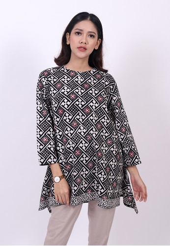ENOM black and white Abhie Blouse A0836AA548A730GS_1