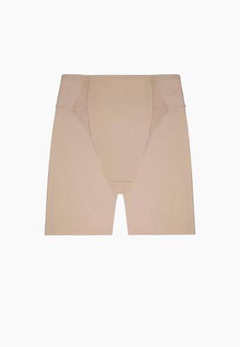 SABINA beige Thigh Contour Basic Shapewear 821B4US51B8241GS_1
