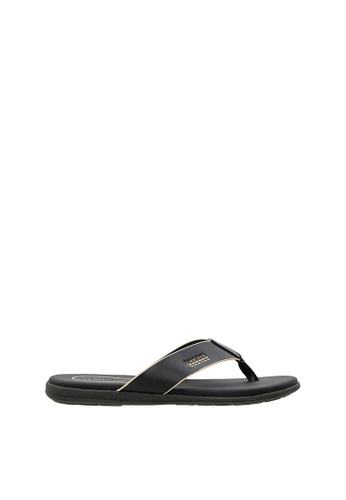 SEMBONIA black SEMBONIA Men Sandal (Black) 24426SHE1C3CF2GS_1