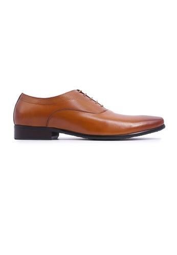Hanson Bootmaker brown Hanson Bootmaker Lace-up Oxford - Tan 8DEC9SH9B4EF93GS_1