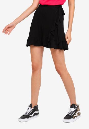 9caf08ff551428 Buy Brave Soul Liv Mini Wrap Skirt | ZALORA HK