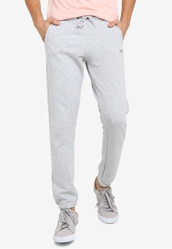 BLEND grey Mini Logo Sweatpants 8EF8FAA1A11EC3GS_1