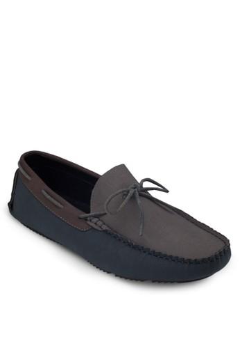 蝴蝶結仿皮樂福鞋, zalora 台灣鞋, 船型鞋