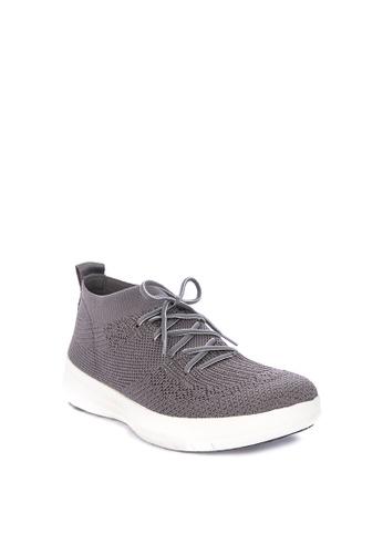 7a9dd78a71b4 Shop Fitflop Uberknit Slip-On High Top Sneaker Online on ZALORA Philippines