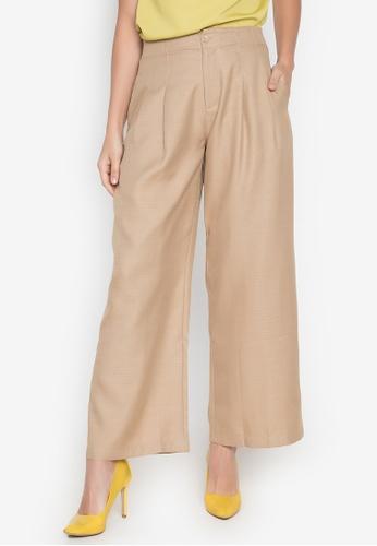 Plains & Prints brown Natural Teneca Pants 1B7E8AAB0A1CC4GS_1