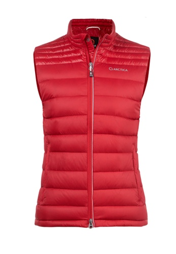ARCTICA red WOMEN'S FEATHERLYTE DOWN PACKVEST 0518EAA9CA37A6GS_1