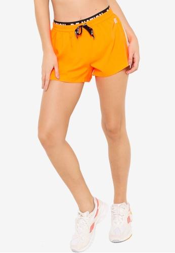 P.E Nation 橘色 Goal 側短褲 C2859AA3A7C923GS_1
