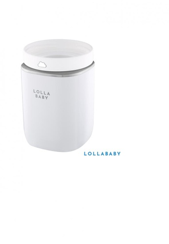 Lollababy grey Lollababy Bottle Warmer with Adapter for Pigeon-Slim Neck, Dr. Brown & Medela  Bottles (New Collection) 714E1ES33BB160GS_1