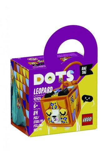 LEGO® multi Dots 41929 Bag Tag Leopard, Age 6+, Building Blocks, 2021 (84pcs) E2ACFKCAEA3AAEGS_1