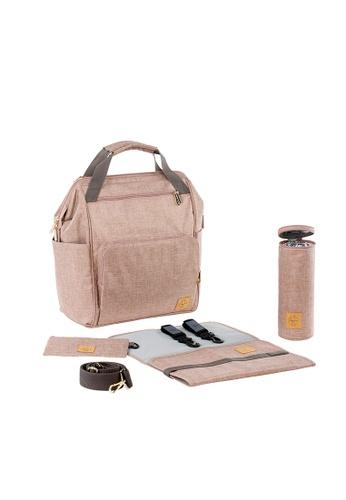 LASSIG Lassig Glam Goldie Backpack Diaper Bag(Rose) DDA2DKC6E73DA8GS_1
