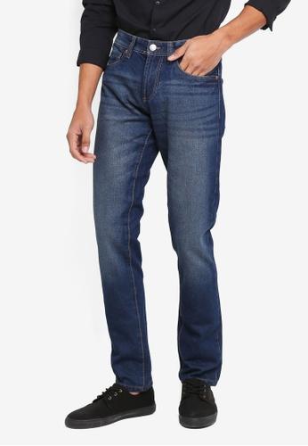 OVS blue Slim Denim Jeans E3228AA3D7EB4FGS_1