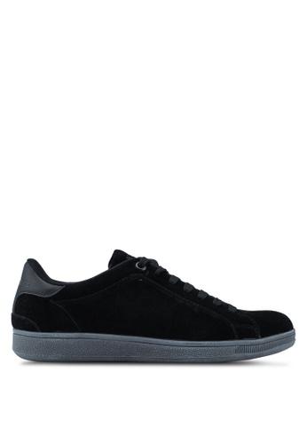 Superdry black Sleek Tennis Low Premium 01A70SH96AD1C5GS_1