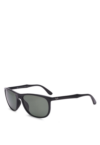 Ray-Ban black RB4291F Polarized Sunglasses RA896GL0RZ5CMY_1