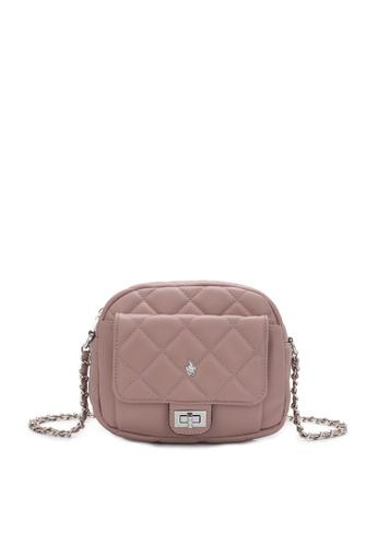 Swiss Polo pink Casual Crossbody Bag FFF15AC6D21F8EGS_1