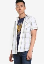 Fidelio white Signature Casual Short Sleeves Shirt FI826AA92NUDMY_1