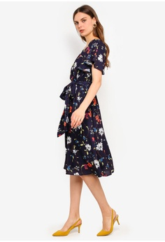 2ac1bf48fe94 15% OFF Goddiva Midi Flutter Sleeve Tea Dress HK$ 449.00 NOW HK$ 380.90  Sizes 8 10 12 14 16