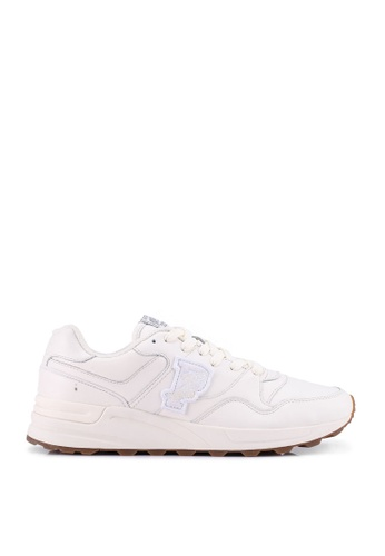 polo ralph lauren beige Trackstr 100 Athletic Sneakers 1D501SH6DC600CGS_1