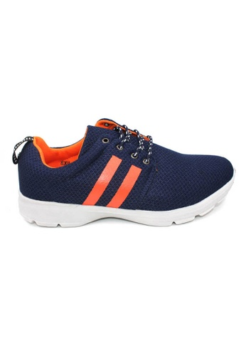 midzone navy EXO SCORPION Extra Size Sneaker 53368SH52860F7GS_1