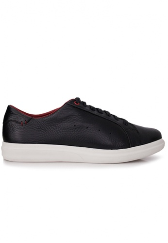 Gino Mariani black Gino Mariani Men's Leather Shoes GUSTRAVO - BLACK 8ABF1SH1AE76B5GS_1