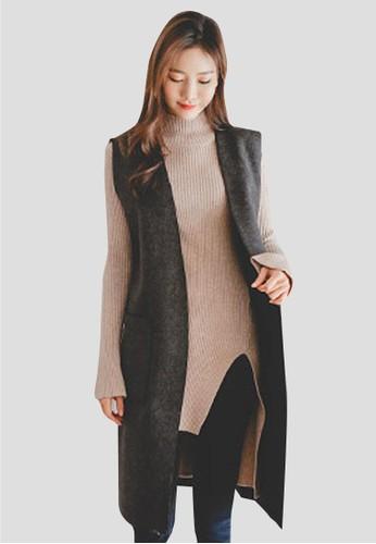 長款加絨馬甲, 服飾, 夾克 &amp尖沙咀 esprit outlet; 大衣