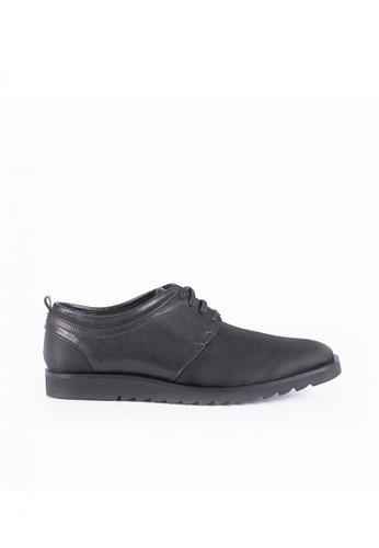 Bristol Shoes black Shelby Lace-ups 139FCSHF511ECEGS_1