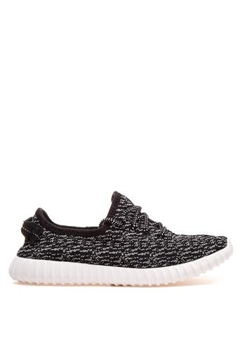 Wade black Lace Up Sneakers WA436SH42LOZPH_1