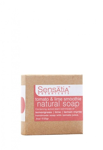 Sensatia Botanicals n/a Sensatia Botanicals Tomato & Lime Smoothie Natural Soap - 25 gr 3004FBEE1F8AAEGS_1